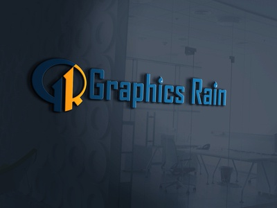 """Graphics Rain"" Logo Design."