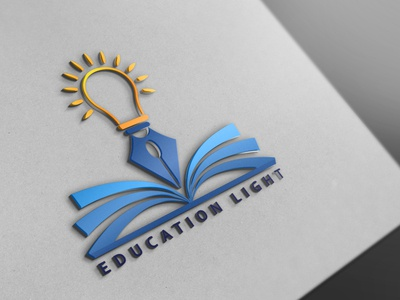 EDUCATION LIGHT Logo Design