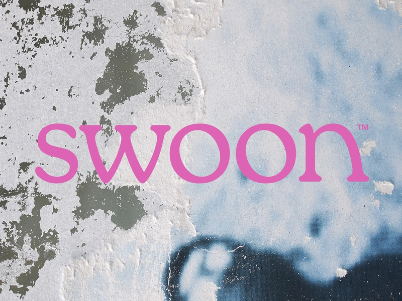 Swoon interior furniture luxury lettering typography logotype logo swoon