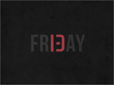 Friday 13 logo t shirt logotype typography custom number black red