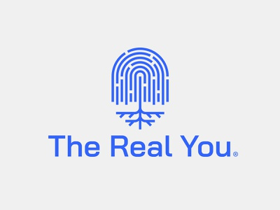 The Real You t shirt society connection roots support help network nature willow tree line maze fingerprint print logo