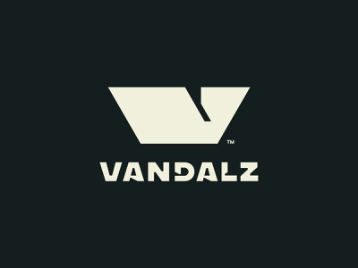 Vandalz vandal monogram logo