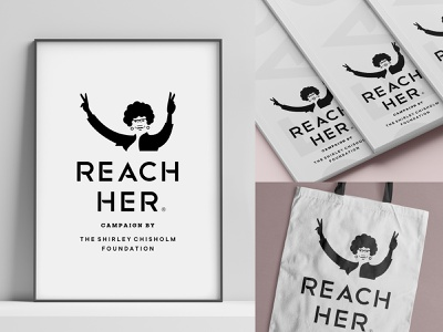 RH by SCF chisholm brochure bag book hand peace foundation education reach figure human woman logo
