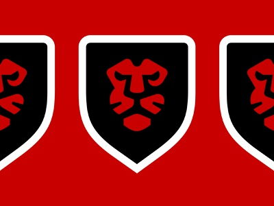 Red Lions sticker power health crossfit fitness fashion sports red lion cat wild animal emblem shield symbol logo