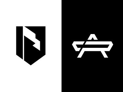 FlagStar symbol simple black legal attorney wear fashion sports law monogram star emblem shadow flag shield logo