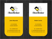 The Beer Broker Cards