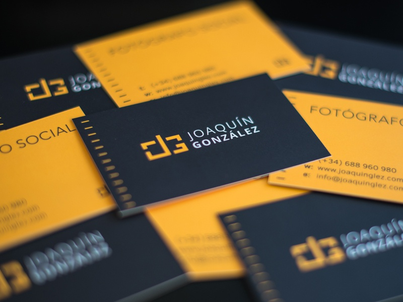 Jg business cards by alen type08 pavlovic dribbble awesomecards reheart Choice Image