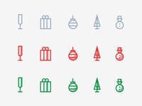 Holidays Icons Styles