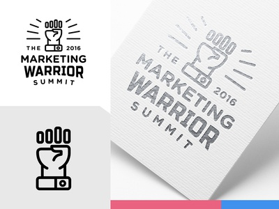 TMWS silver event conference summit online graph chart bar warrior marketing fist logo