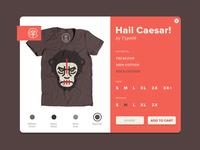Hail Caesar T-shirts
