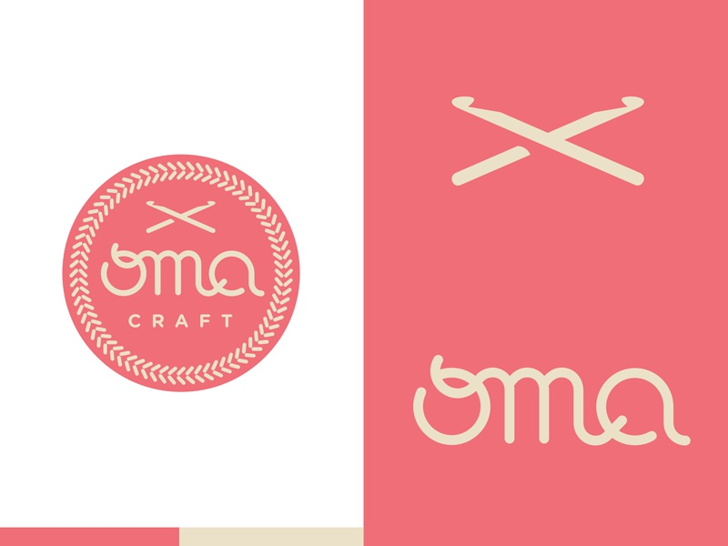Logo For Indonesia Based Oma Craft A Crochet Knitting And Handmade Crafts Business Run By Talented Rosita Wiyono