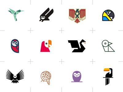 Bird-themed Logos