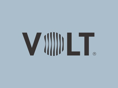 Volt Concept 1 abstract power volt lens eye battery charging wave circle photography logo
