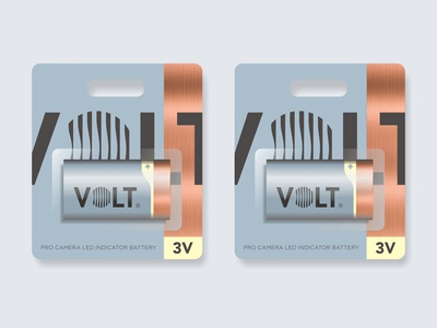 Volt Packaging packaging abstract power volt lens eye battery charging wave circle photography logo