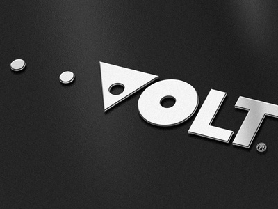 Volt Concept 2 chrome indicator power volt lens eye battery charging circle photography logo