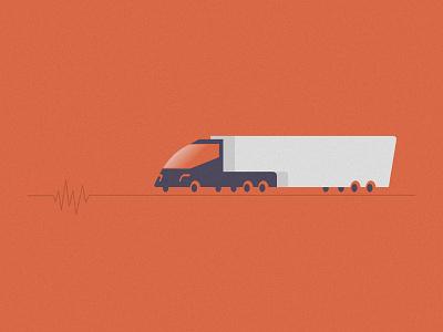 Tesla Truck future 3d vehicle delivery power electric energy tesla truck illustration