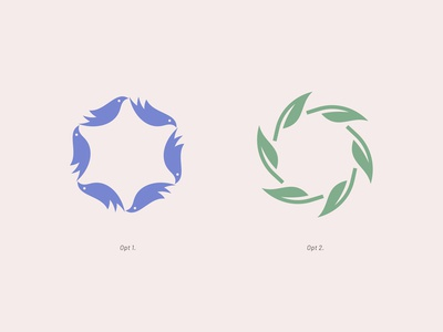 Female Entrepreneurs laureate circular feather bird star david network foundation woman female logo