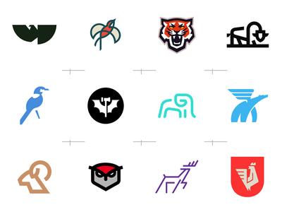 Animal-themed Logos