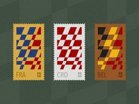 2018 World Cup Stamps