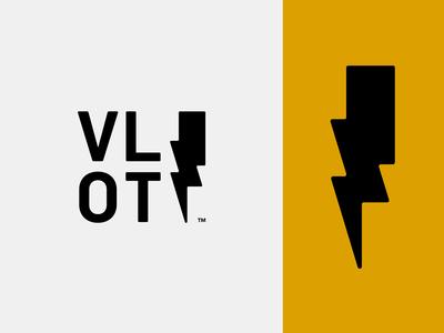 Volt Concept 3 bolt photography battery energy power volt thunder logo