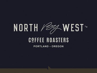 NBW Logo calligraphy west roasters coffee typography seal crest open logotype logo