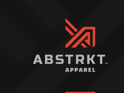 Abstrkt wear sportswear fashion apparel lines monogram initials crossfit fitness sports logo