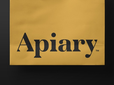 AMF lettering typogaphy yellow gold logotype logo financial beehive hive bee apiary