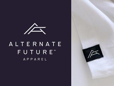 A F A triangle youth apparel tag urban streetwear clothing fashion wear shadow flag monogram monoline future logo