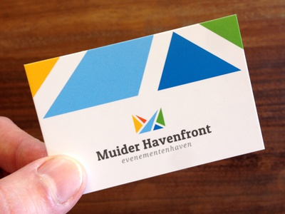 MH stationery logo business card print yacht yachting marine sea wave ocean harbor multicolor colorful triangle initials water sailing geometry