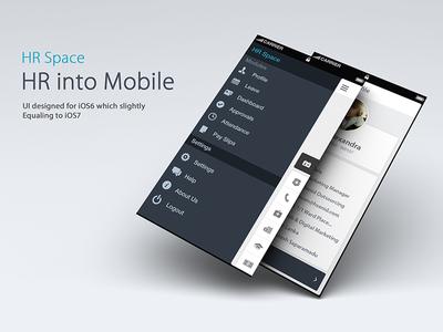 HR Space (iOS) Design Prototype