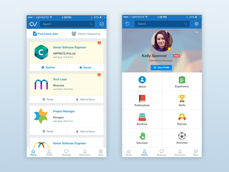 cv showcase ui  ux by buwaneka ranatunge