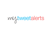 My Tweet Alerts Logo Design
