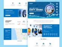 Laundromat Website Redesigning