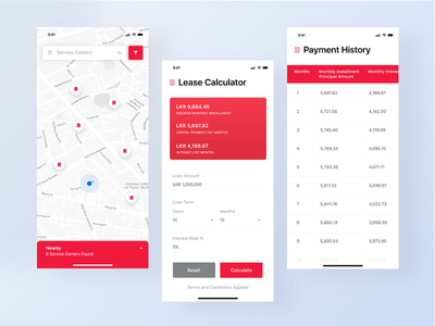 Finance Management App - Orient Finance management app sri lanka srilanka finance clean uiux ios app mobile ceffectz design ui ux