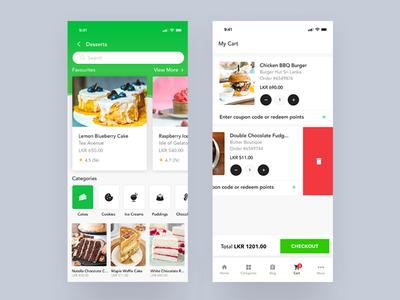 E-commerce Mobile App shopping e-commerce cart uiux ios app mobile design ui ux