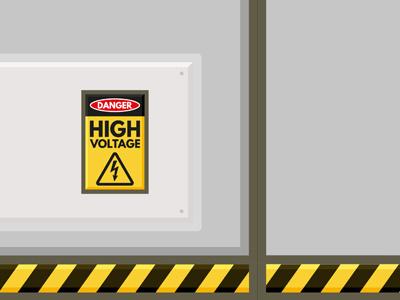 Cargo Door Detail illustrator after effects animation illustration vector flat