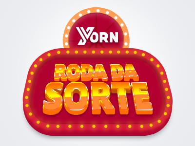 Yorn - Roda da Sorte (Wheel of Fortune)  photoshop gambling slot machine lights casino wheel of fortune vodafone