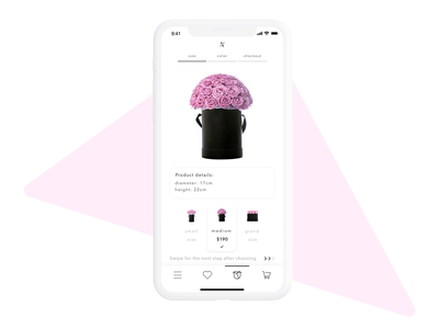 Flower Store concept flower ecommerce design ecommerce divante progressive web application pwa