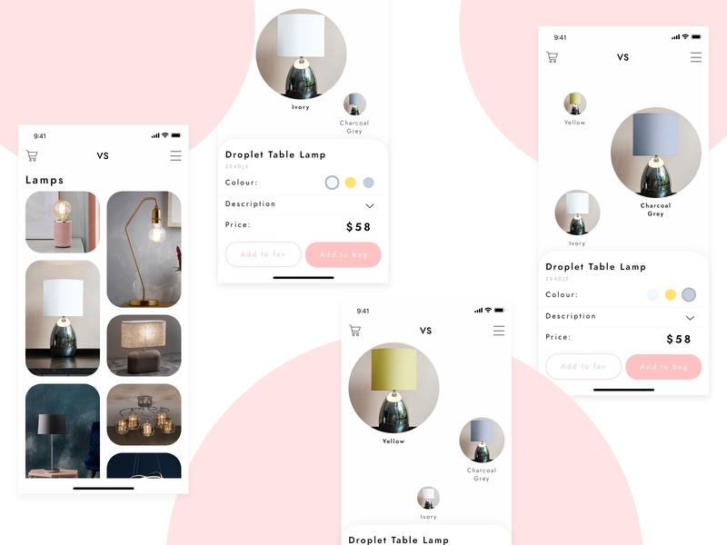 Concept for lamps shop