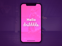 Hello Dribbble, We're ready to play