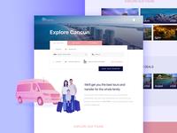 Tourism transport website