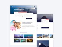 Hotel Website Progress