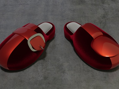 Dee's Shoes 3d character