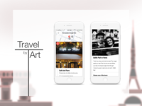 Travel by Art mobile app