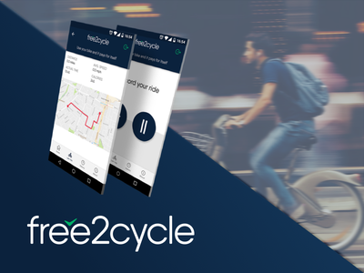 free2cycle - Mobile App mobile app cycling app
