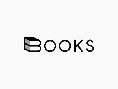 Books logo animation 2d flat icon illustration branding after effect interaction design design motion graphics graphic design simple vector minimal logo books logo animation logo reveal logo mark simple logo logo logo animation book logo