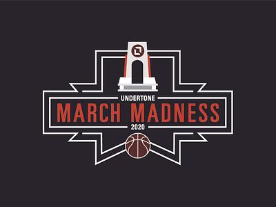Undertone March Madness illustration march madness logo basketball