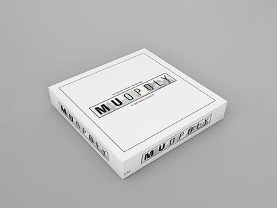 MUopoly Box milwaukee marquette university marquette box board game box board game monopoly vector illustration