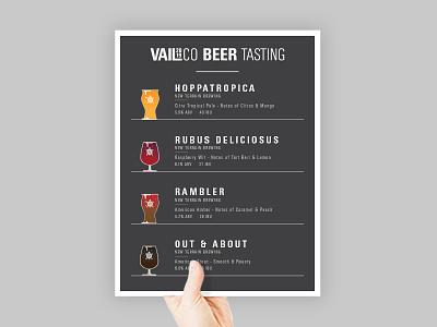 Beer Tasting Menu vector art beer menu illustration 2d vector beer