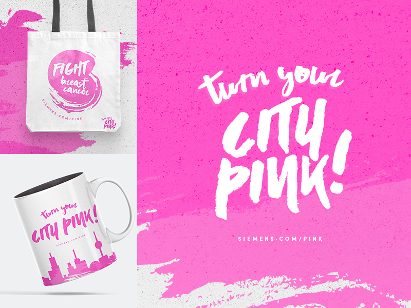Breast Cancer Awareness Campaign brand design branding breast cancer awareness breast cancer medical breastcare pink campaign design